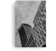 Walkie Talkie London Canvas Print