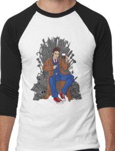 Throne of Time Men's Baseball ¾ T-Shirt