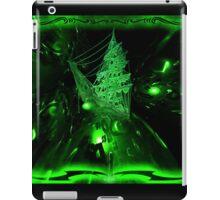 Space Ghost Ship digital Art iPad Case/Skin