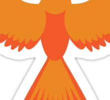Harry Potter Phoenix Print Sticker