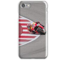 Marc Marquez at Circuit Of The Americas 2014 iPhone Case/Skin