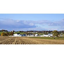 An Amish Landscape Photographic Print