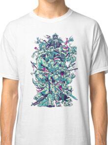 Nuclear Zombie Ninja Turtles Classic T-Shirt
