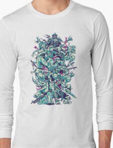 Nuclear Zombie Ninja Turtles Long Sleeve T-Shirt
