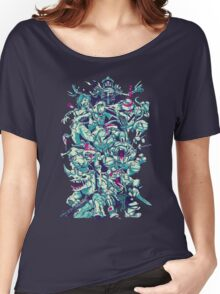 Nuclear Zombie Ninja Turtles Women's Relaxed Fit T-Shirt