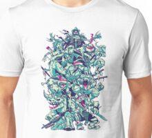Nuclear Zombie Ninja Turtles Unisex T-Shirt
