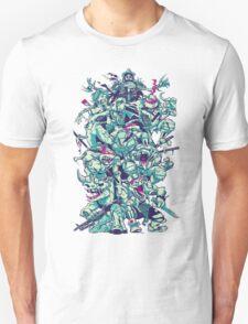 Nuclear Zombie Ninja Turtles T-Shirt
