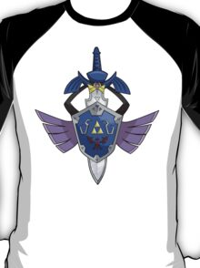 Master Sword - Hylian Shield Aegislash T-Shirt