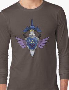 Master Sword - Hylian Shield Aegislash Long Sleeve T-Shirt