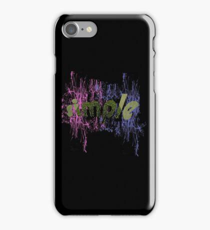 text art iPhone Case/Skin
