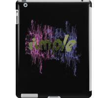 text art iPad Case/Skin