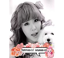 Tiffany Hwang SNSD Photographic Print