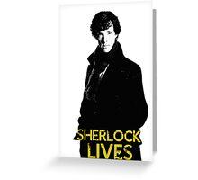 #SherlockLives Greeting Card