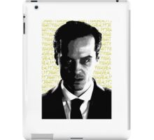 Moriarty Was Real iPad Case/Skin