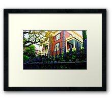 Overwrought Maison Framed Print