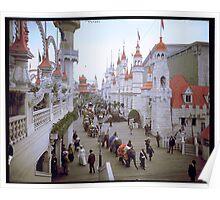 "Coney Island, New York. ""Luna Park Promenade"", ca. 1905 Poster"