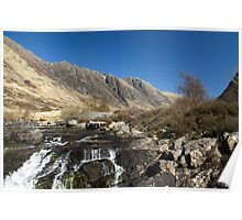 River Coe, Glencoe, Scotland Poster