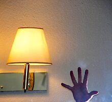 Self portrait in a Motel 6 by jordyv