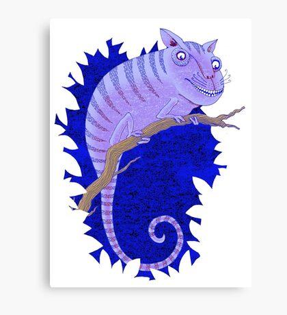 Cheshire Cat Chameleon Canvas Print