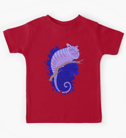 Cheshire Cat Chameleon Kids Clothes