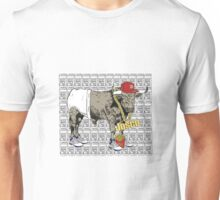 Latino Bull with Jordans Unisex T-Shirt