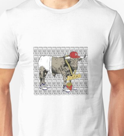 Latino Bull with Jordans Unisex T-Shirt