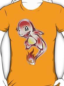 Tribal Charmander! T-Shirt