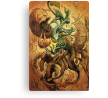 The Crackling Husk Canvas Print