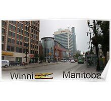 WinniPEG Manitoba Poster