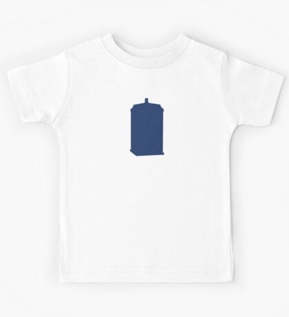 Doctor Who Tardis Kids Tee