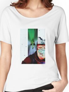 Space Odyssey Montage Women's Relaxed Fit T-Shirt
