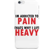 lift heavy iPhone Case/Skin