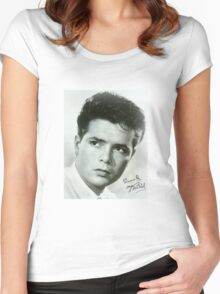 Cliff Richard Women's Fitted Scoop T-Shirt