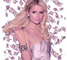 Paris Hilton 'Stop Being Jealous' Art v.2 by SameOldChic