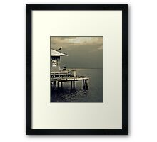 Days of Leisure Framed Print