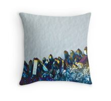 Titanium Quartz Throw Pillow