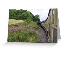 West Somerset Railway Greeting Card
