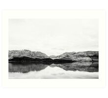 Lake Wakatipu Art Print