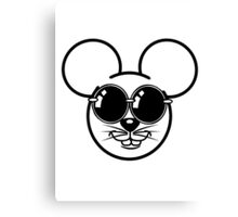 mouse sweet love Sunglasses Canvas Print