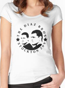 The Diaz Brothers Women's Fitted Scoop T-Shirt