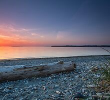 Birch bay sunset by Eti Reid