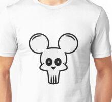 mouse skull Unisex T-Shirt