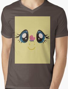 Fluttershy and Butterfly Mens V-Neck T-Shirt