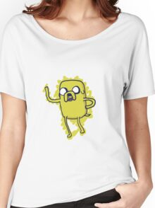 Jake The Dog - Hand Drawn Women's Relaxed Fit T-Shirt