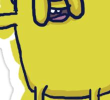 Jake The Dog - Hand Drawn Sticker