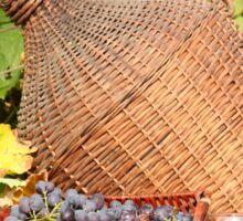 red wine autumn scene Sticker