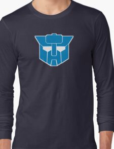 Transformers - Wreckers Logo Long Sleeve T-Shirt