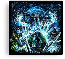 TMNT Shell Shocked Canvas Print