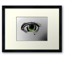 Green Eye  Framed Print
