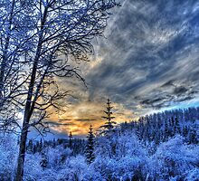 Cariboo Sunrise by Skye Ryan-Evans